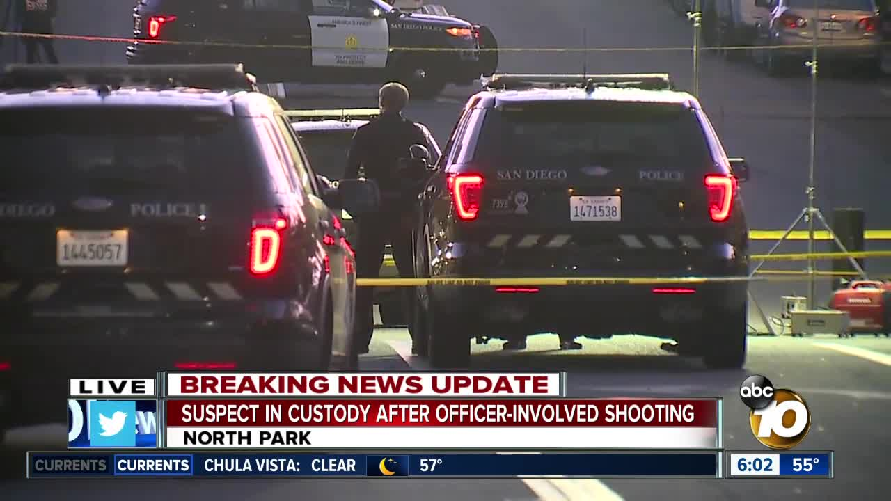 Pursuit sparks officer-involved shooting