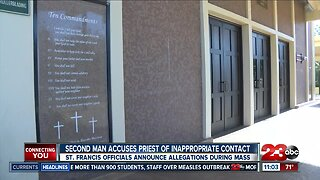 Church officials announce allegations against Monsignor Craig Harrison to parishioners at Sunday mass