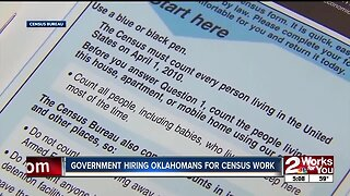 Government hiring Oklahomans for census work