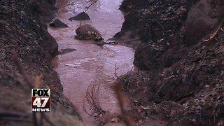 Flash floods and mudslides hit California