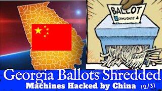 Election Fraud Whistleblower - Georgia Machines Hacked - Ballots SHREDDED - Jovan Pulitzer 12/31