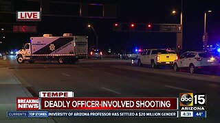 Officer-involved shooting near Tempe Town Lake