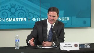 Arizona Governor Doug Ducey holds COVID-19 pandemic briefing