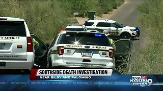 Deputies investigate death south of Tucson