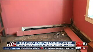 Buena Vista Museum works through repairs after fires
