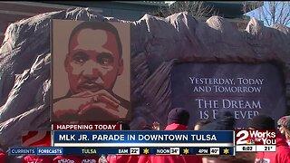 MLK Jr. Parade in Downtown Tulsa