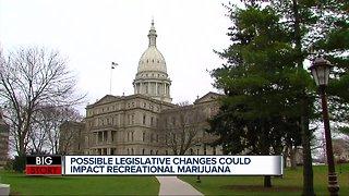 Possible legislative changes could impact recreational marijuana