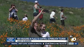 New measures in place to control superbloom tourism