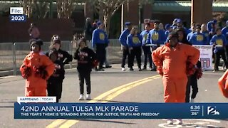 42nd Annual Tulsa MLK Day Parade