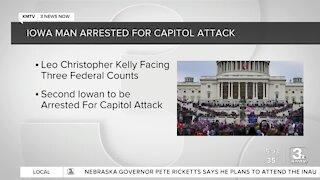 FBI: 2nd Iowa man arrested in Capitol breach investigation