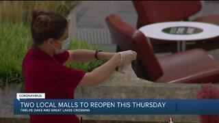 2 metro Detroit malls to reopen this Thursday