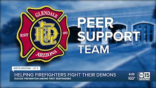 Helping firefighters fight their demons