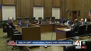 KCMO Health Department monitoring people for coronavirus