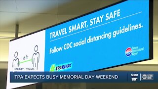 TPA busy with memorial day travelers