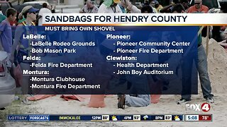 Sandbags available for Hendry County