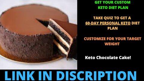 Keto Chocolate Cake!