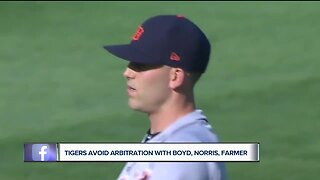 Tigers avoid arbitration with Boyd, Farmer, Norris, and Jones