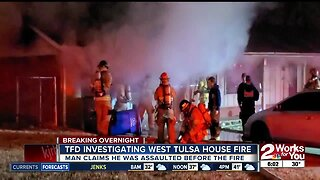 TFD investigating west Tulsa house fire
