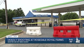 Deadly shooting at Rosedale Royal Farms