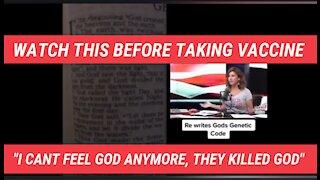 Covid vaccine kills God says trial patient