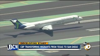 CBP transferring migrants from Texas shelters to San Diego