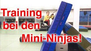 Training bei den Mini-Ninjas