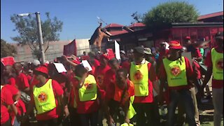 WRAP: Vavi threatens two-day strike should government not heed demands (uui)