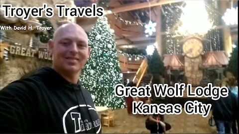 Great Wolf Lodge in Kansas City with Troyer's Travels