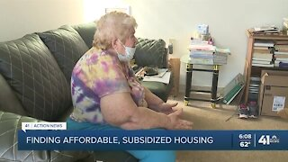 Elderly woman facing eviction, having trouble finding affordable housing