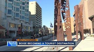 Boise becomes tourist destination