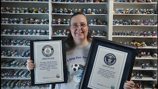 Guinness World Record Smurf collection is in Ripon, Wisconsin