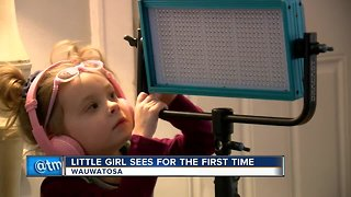 3-year-old undergoes gene therapy, gains vision