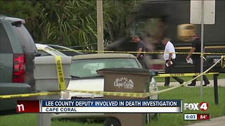 Lee County Deputy Involved in Death Investigation