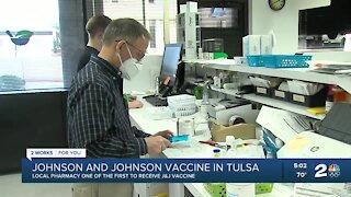 Johnson & Johnson vaccine arrives in Tulsa