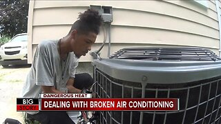 Dealing with broken air conditioning