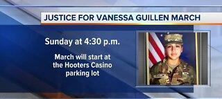 Justice for Vanessa Guillen march
