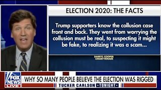 Why do Trump voters believe the election was rigged? Tucker Carlson