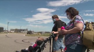 Wyoming family in Denver for lifesaving treatment are stranded after a thief stole their car
