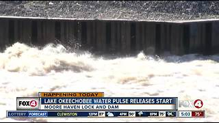 Lake O water releases will resume Friday morning