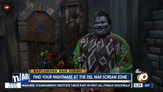 Find your nightmare at the Del Mar Scream Zone