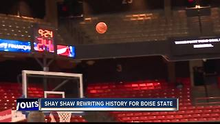 Shay Shaw rewriting history for Boise State