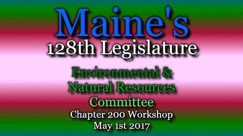 20170501 ENR Disposition of Remaining Bills for Chapter 200
