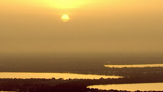 Saharan dust affecting people with allergies, respiratory illnesses