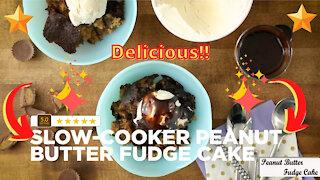 Peanut butter fudge cake recipe