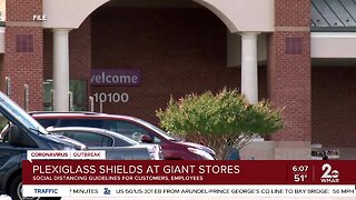 Giant to add plexiglass shields amid coronavirus