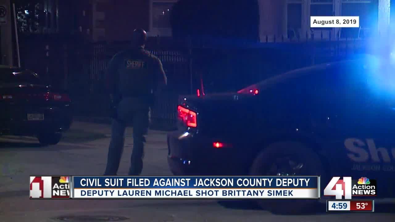 Civil suit filed against Jackson County deputy