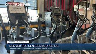 Denver starting to reopen rec centers