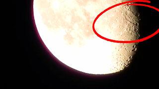 Moon footage captures strange activity on camera