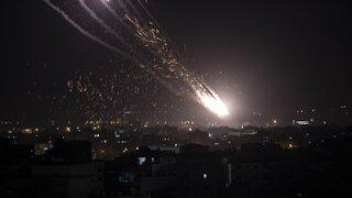 Israel Launches Airstrikes On Gaza After Hamas Rocket Attacks
