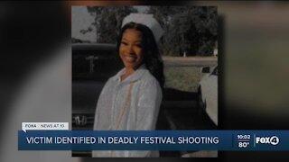 Victim identified in Brown Sugar Festival